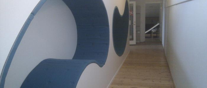 Læsekrog på Svendborg Gymnasium