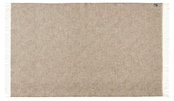 Plaid - 130 x 200 cm, beige. Design: fanø.-690