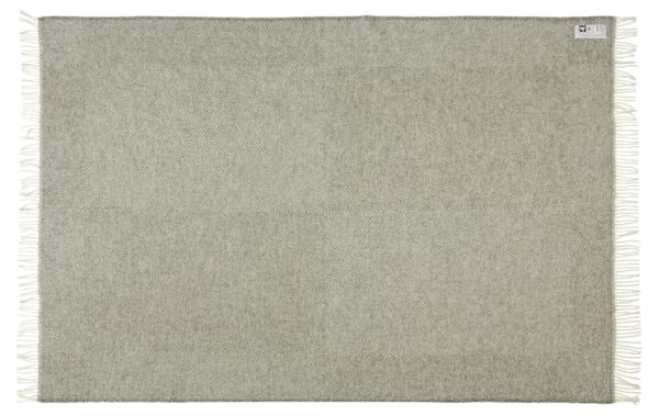 Plaid - 130 x 200 cm, grå. Design: femø.-696