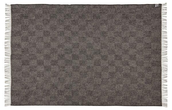 Plaid - 130 x 200 cm, sort. Design: fanø.-679