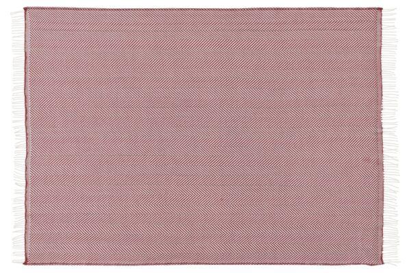 Plaid - 130 x 190 cm, Bordeaux, Design: bordeaux.-660