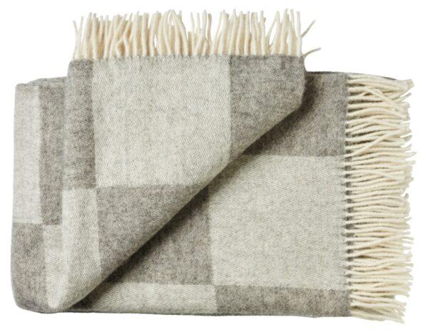 Plaid - 130 x 200 cm, grå. Design: ærø.-0