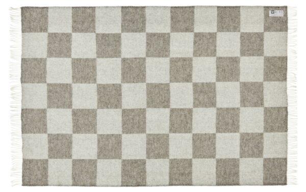 Plaid - 130 x 200 cm, grå. Design: ærø.-737