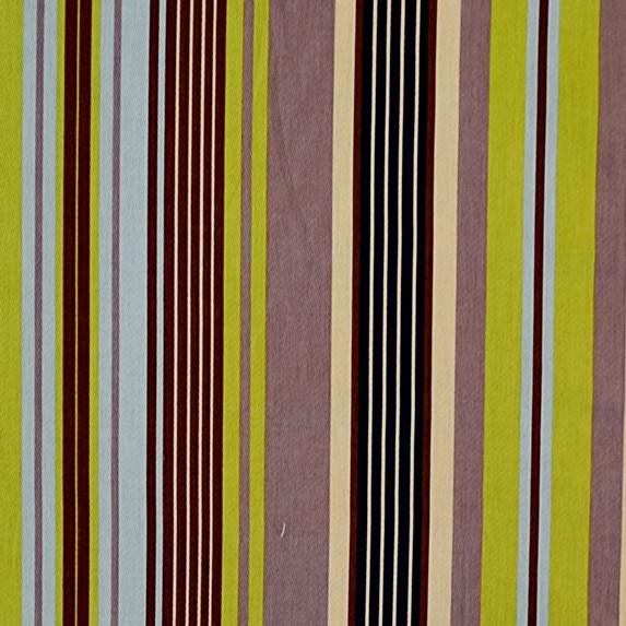 Stribet Bomuld Grøn/brun/-0
